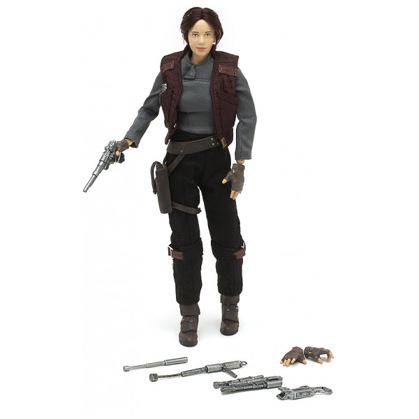 Disney Store Actionfigur Exklusiv Sergeant Jyn Erso Elite Series- Rogue One A Star Wars Story från Disney store