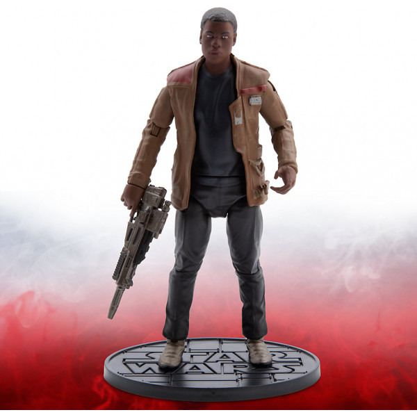 Disney Store Actionfigur Finn Star Wars Elite Series Diecast-Figur 16,5 Cm från Disney store
