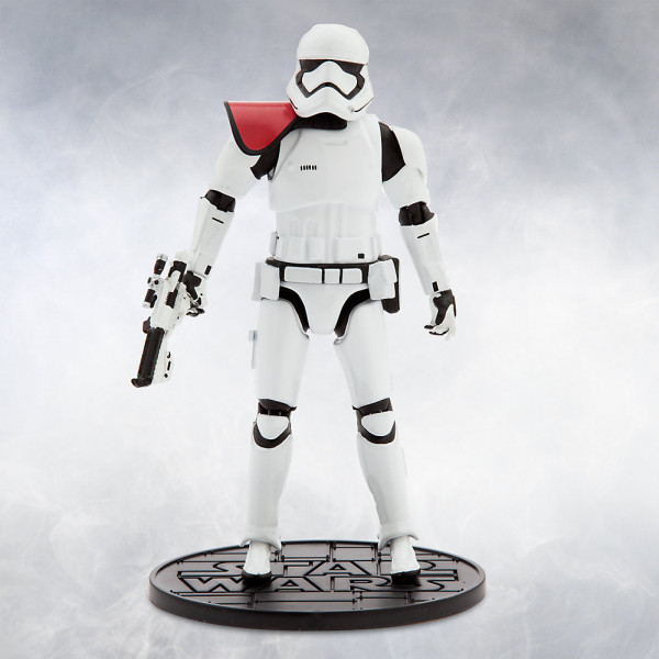 Disney Store Actionfigur First Order Stormtrooper Officer Elite Series Die-Cast-Figur Star Wars The Force Awakens från Disney store