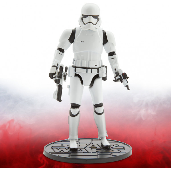 Disney Store Actionfigur First Order Stormtrooper Star Wars Elite Series Diecast-Figur 16,5 Cm från Disney store