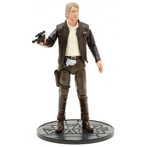 Disney Store Actionfigur Han Solo Elite Series Die-Cast Figure Star Wars The Force Awakens från Disney store