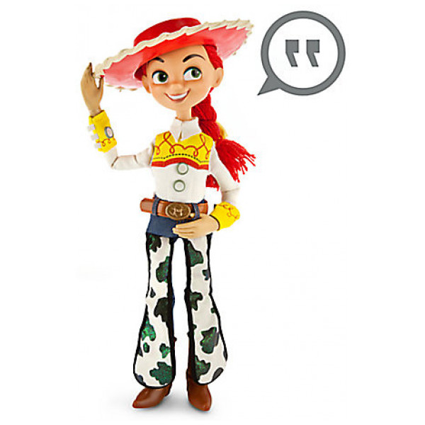 Disney Store Actionfigur Jessie 40 Cm Talande Figur från Disney store
