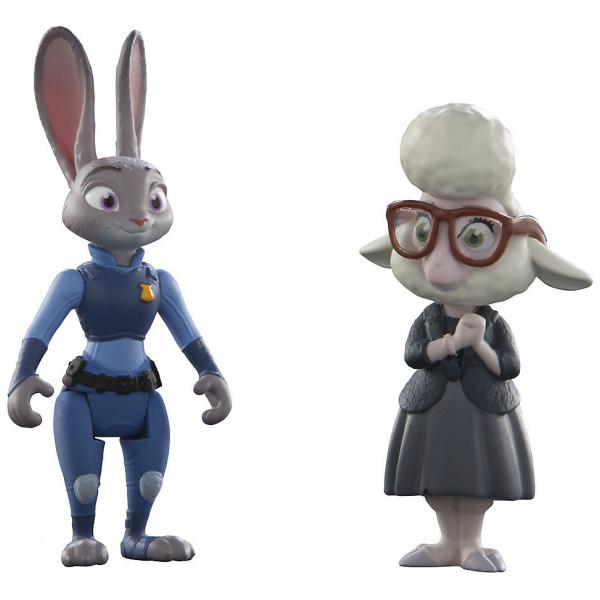 Disney Store Actionfigur Judy Hopps Och Vice Borgmästare Bellwether Figurer Zootropolis från Disney store