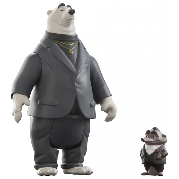 Disney Store Actionfigur Kevin Och Mr Big Figurer Zootropolis från Disney store