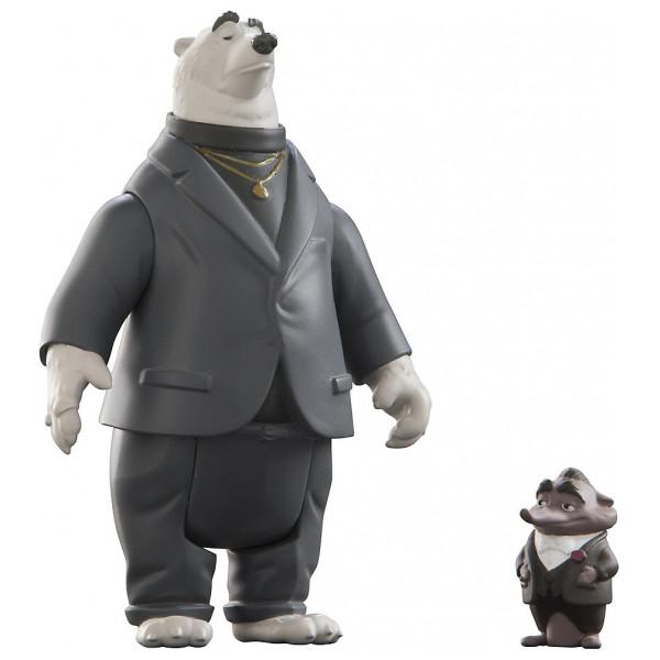 Disney Store Actionfigur Kevin Och Mr Big Figurer Zootropolis från Disney store