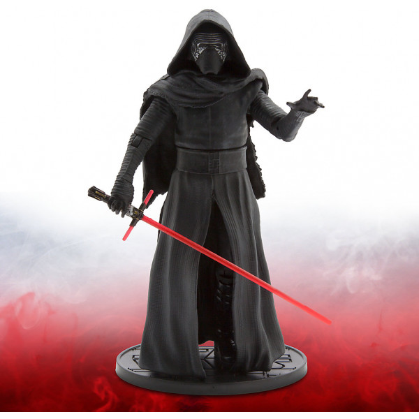 Disney Store Actionfigur Kylo Ren Star Wars Elite Series Diecast-Figur 19 Cm från Disney store