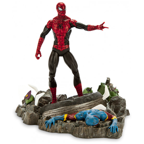 Disney Store Actionfigur Marvel Select Superior Spiderman från Disney store