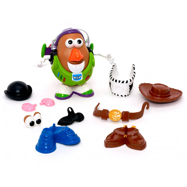 Disney Store Actionfigur Mr Potato Head Hink Med Olika Delar från Disney store