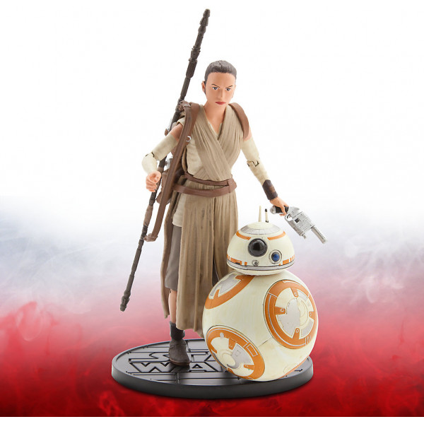 Disney Store Actionfigur Rey Och Bb-8 Star Wars Elite Series Diecast-Figurer 15 Cm från Disney store