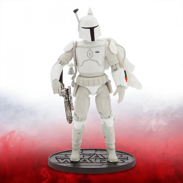 Disney Store Actionfigur Star Wars Elite-Serien 16,5 Cm Diecast-Figur Boba Fett Prototyprustning från Disney store