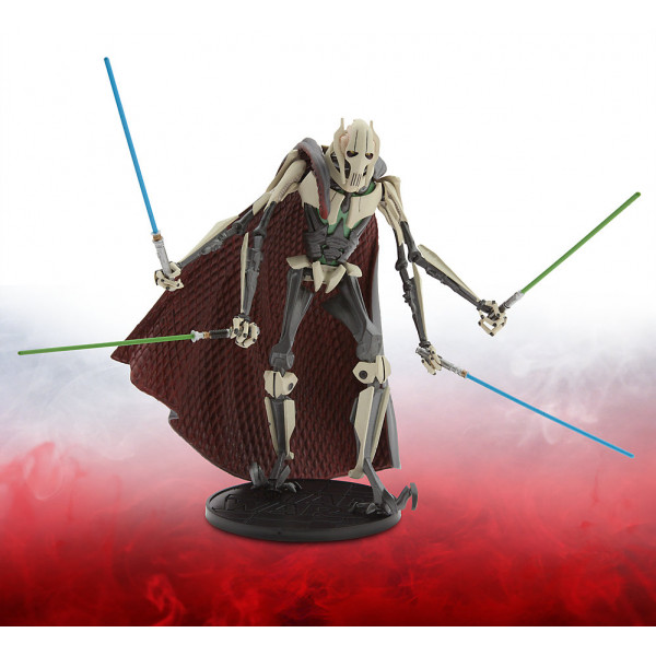 Disney Store Actionfigur Star Wars Elite Series 16,5 Cm Diecast-Figur General Grievous från Disney store