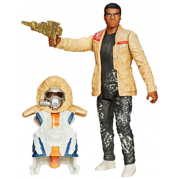 Disney Store Actionfigur Star Wars The Force Awakens Snow Mission Armour Finn-Figur 9,5 Cm från Disney store