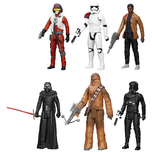 Disney Store Actionfigur Star Wars The Force Awakens Titan Figurset Ca 28 Cm från Disney store