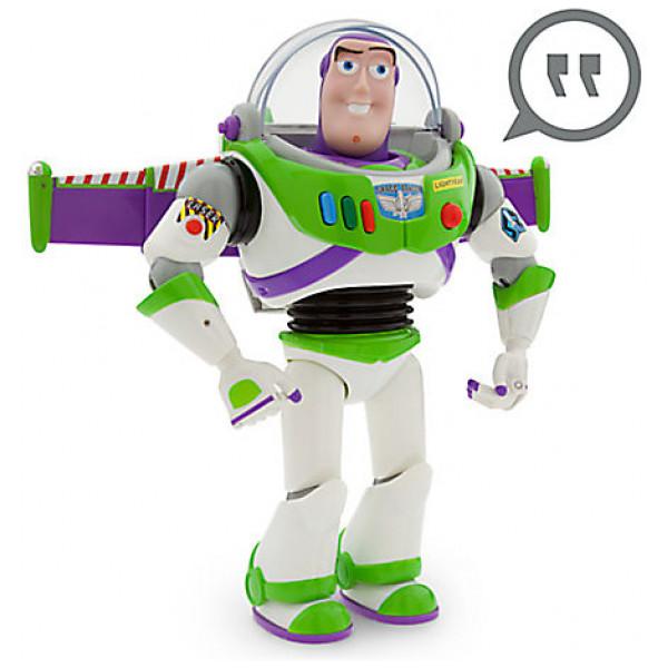 Disney Store Actionfigur Talande Buzz Lightyear-Figur 30 Cm från Disney store