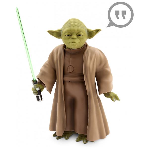 Disney Store Actionfigur Talande Interaktiv Yoda från Disney store