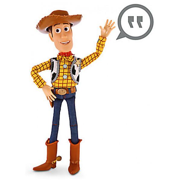 Disney Store Actionfigur Talande Woody-Figur från Disney store