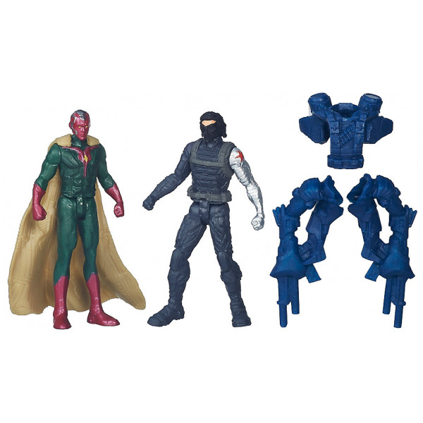 Disney Store Actionfigur Vision Och Winter Soldier-Figurer Captain America Civil War från Disney store