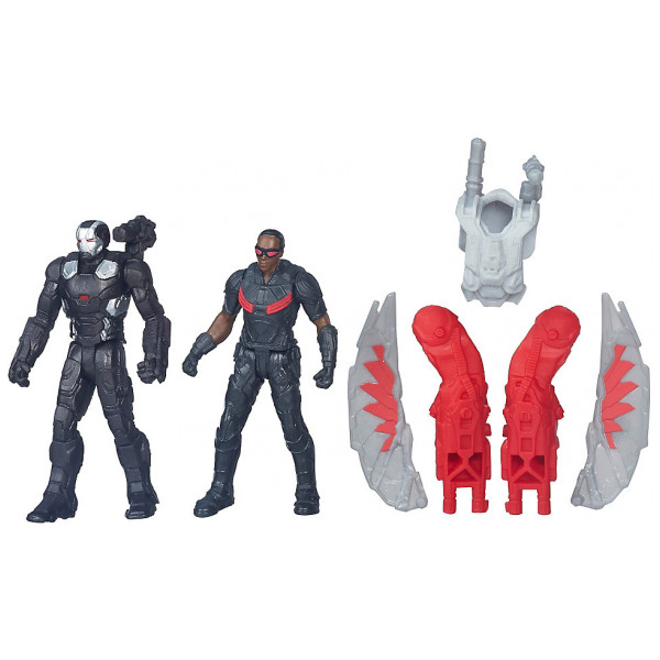 Disney Store Actionfigur War Machine Och Falcon-Figurer Captain America Civil War från Disney store