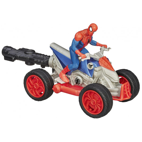 Disney Store Actionfigur Web Warriors Spider Man Atv från Disney store