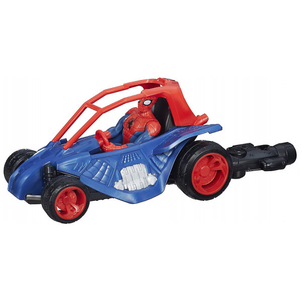 Disney Store Actionfigur Web Warriors Spider Man Sand Runner från Disney store