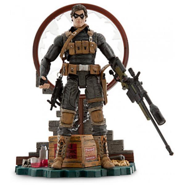 Disney Store Actionfigur Winter Soldier Samlarutgåva från Disney store