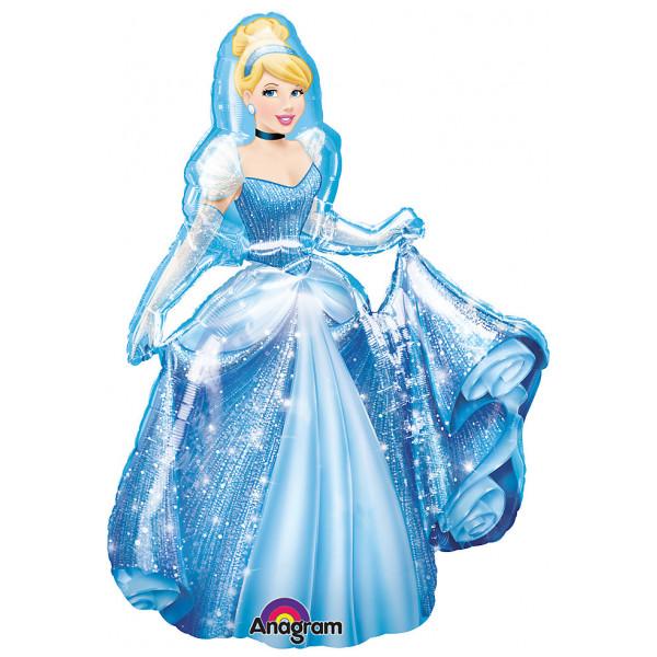 Disney Store Ballong Askungen Vandrande från Disney store