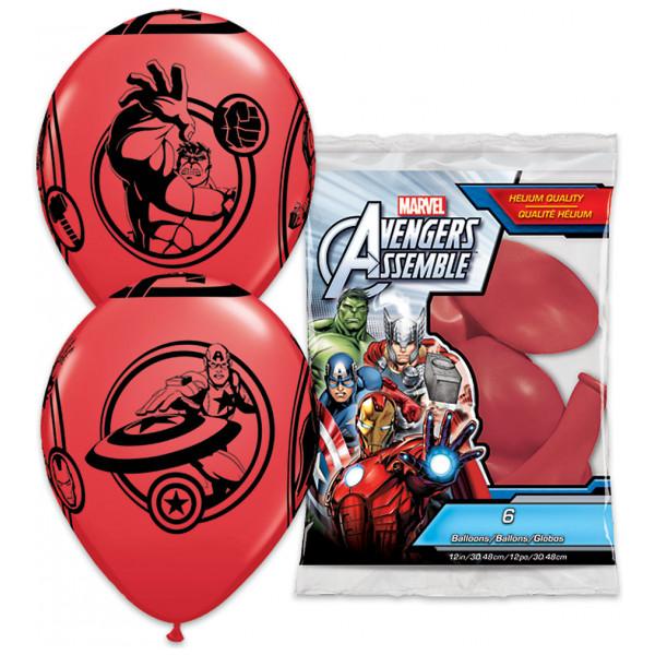 Disney Store Ballong Avengers Ballonger Set Med 6 från Disney store