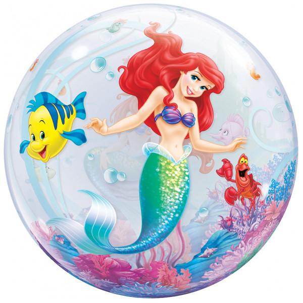 Disney Store Ballong Den Lilla Sjöjungfrun Bubbelballong från Disney store