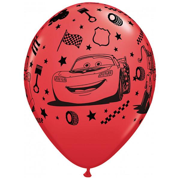 Disney Store Ballong Disney Pixar Bilar 6X Ballonger från Disney store