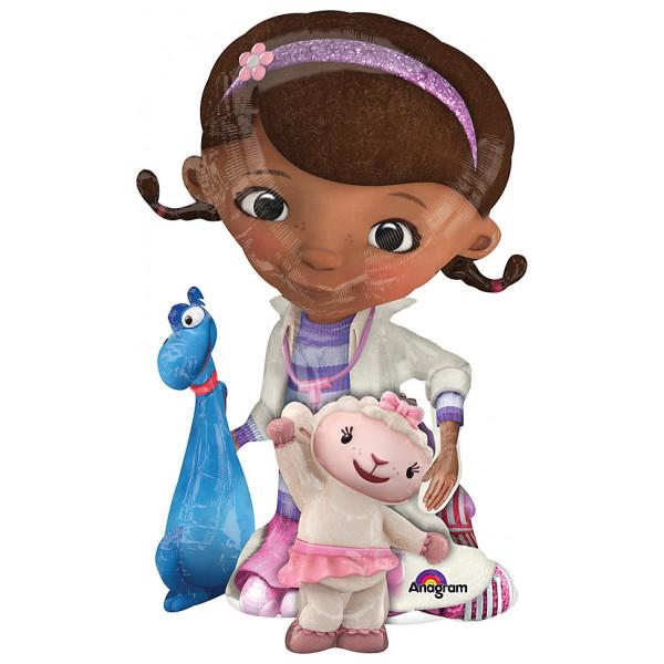 Disney Store Ballong Doktor Mcstuffins Vandrande från Disney store