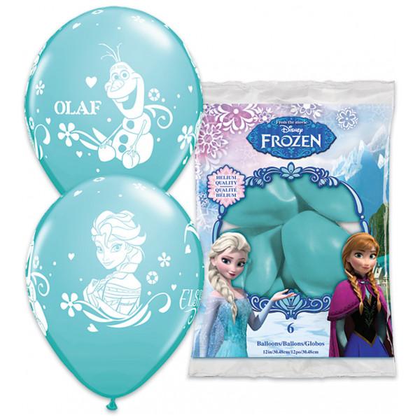 Disney Store Ballong Frost Ballonger Set Med 6 från Disney store