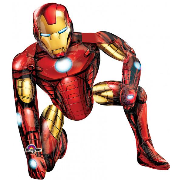 Disney Store Ballong Iron Man Vandrande från Disney store