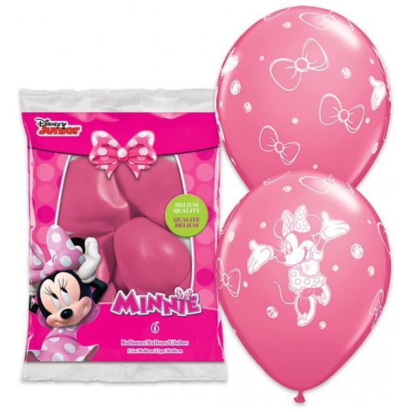 Disney Store Ballong Mimmi Pigg Ballonger 6-Pack från Disney store