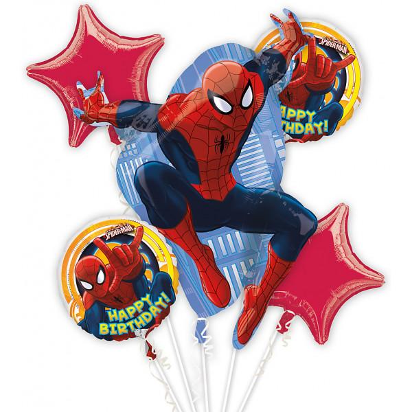 Disney Store Ballong Spiderman Ballongbukett från Disney store