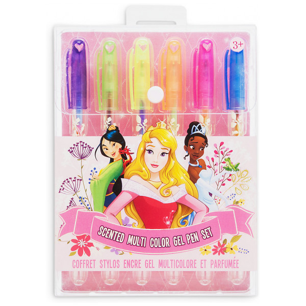 Disney Store Disney Prinsessor Doftande Glittergelpennor I 6-Pack från Disney store