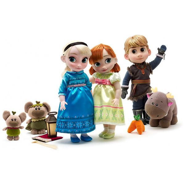 anna och elsa dockor
