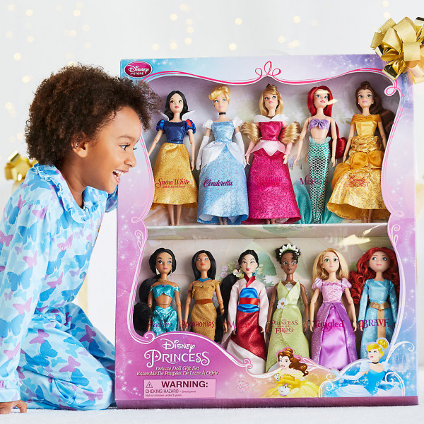 Disney Store Docka Disney Prinsessor-Dockpresentset Deluxe från Disney store
