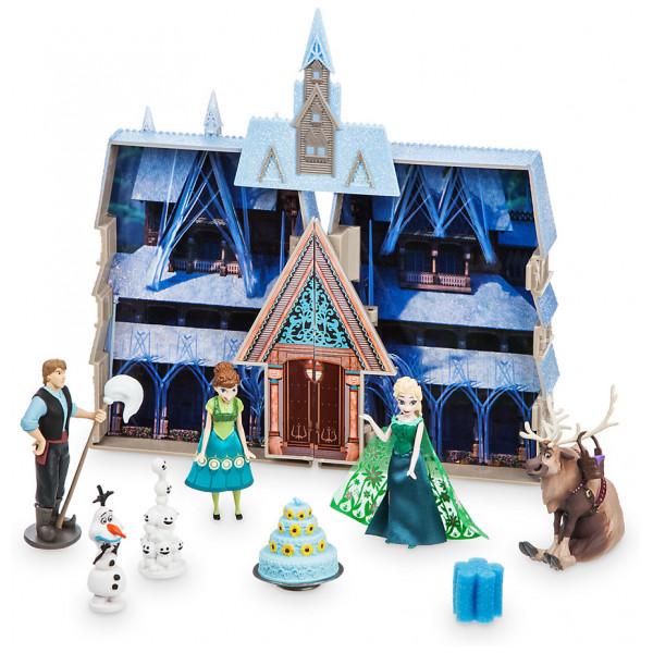 Disney Store Docka Frost Lekset Med Slott från Disney store