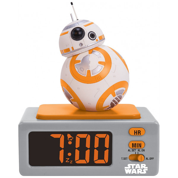 Disney Store Elektronik Bb-8 Väckarklocka Star Wars The Force Awakens från Disney store