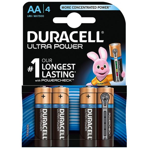 Disney Store Elektronik Duracell Ultra Power Alkaliska Aa-Batterier 4-Pack från Disney store