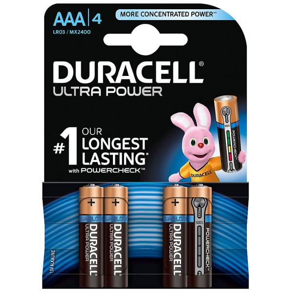 Disney Store Elektronik Duracell Ultra Power Alkaliska Aaa-Batterier 4-Pack från Disney store