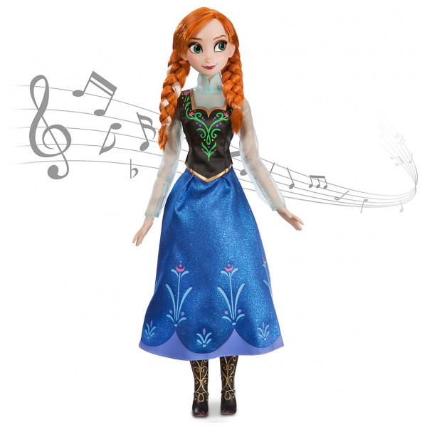 Disney Store Figur Anna Från Frost Sjungande Docka från Disney store