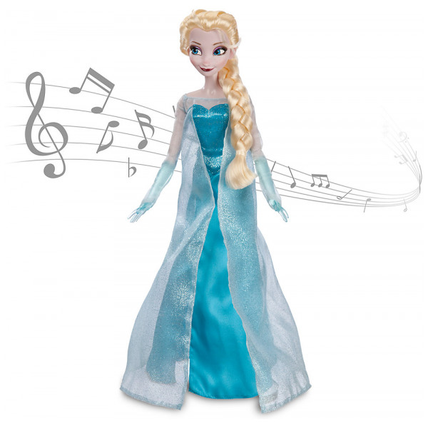 Disney Store Figur Elsa Från Frost Sjungande Docka från Disney store