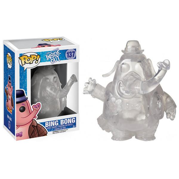 Disney Store Figur Insidan Ut Bing Bong Pop Genomskinlig Vinylfigur Frän Funko från Disney store