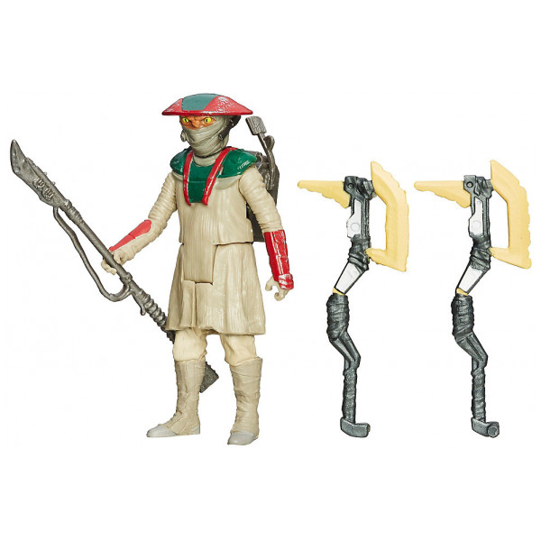 Disney Store Figur Star Wars The Force Awakens Desert Mission Constable Zuvio- 9,5 Cm från Disney store