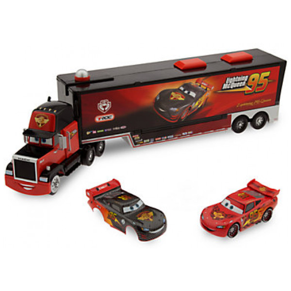Disney Store Fordon Bilar Carbon Racer Mack Startramp från Disney store