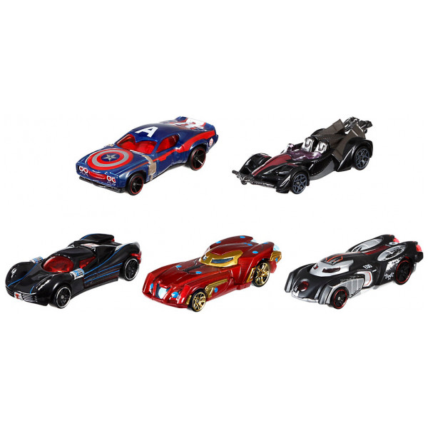 Disney Store Fordon Captain America Civil War Hot Wheels Bilar 5 St från Disney store