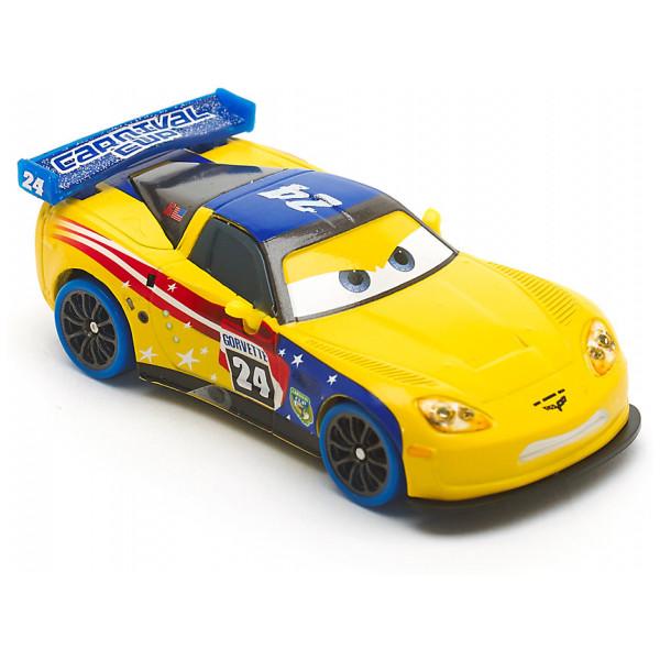 Disney Store Fordon Carnival Jeff Gorvette Diecast-Modell Disney Pixar Bilar från Disney store