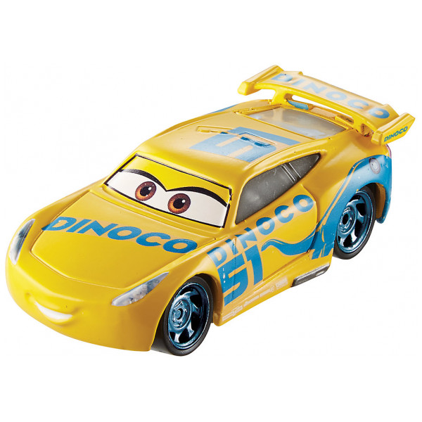 Disney Store Fordon Dinoco Cruz Ramirez Formgjuten Figur Disney Pixar Bilar 3 från Disney store