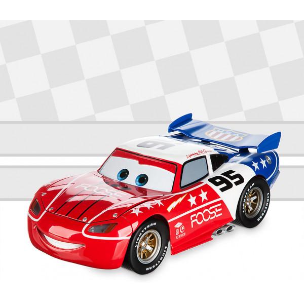 Disney Store Fordon Disney Pixar Bilar Anpassad Diecast Från Artist-Serien Skala 118 Blixten Mcqueen Av Chip Foose från Disney store